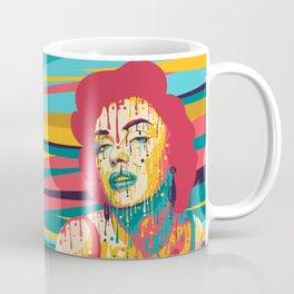Marylin Psychedelic Coffee Mug