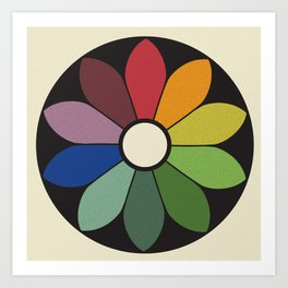 James Ward's Chromatic Circle Art Print