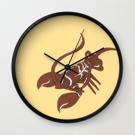 New England Gingerbread Wall Clock
