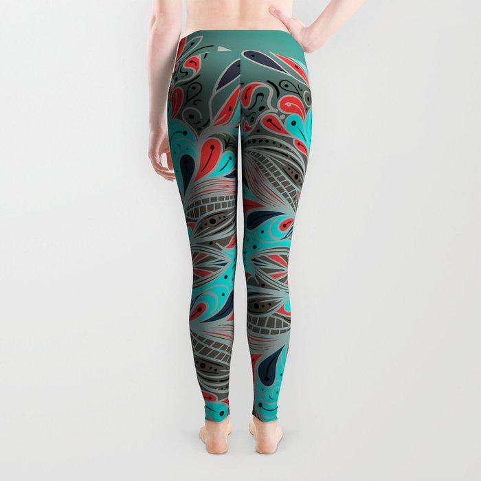 Mandala Flower Leggings