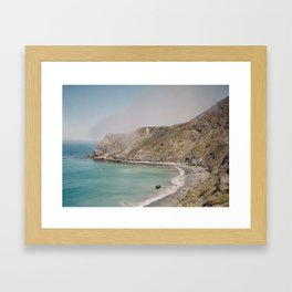 Pacific Coast Highway 1.1 Framed Art Print
