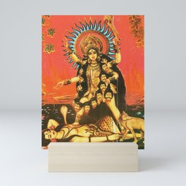 Hindu - Kali 5 Mini Art Print