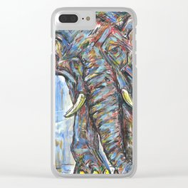 Victor The King Clear iPhone Case