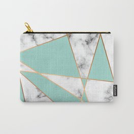Marble Geometry 055 Carry-All Pouch