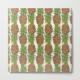 PINA COLADA: pineapple Metal Print