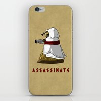 dalek iPhone & iPod Skins featuring Assassin's Dalek by mikaelak