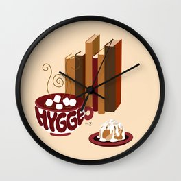 Hygge Warmth 2 Wall Clock