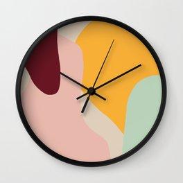 Ziz Abstract Painting Wall Clock