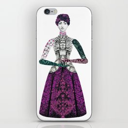 Portrait of a lady: Berenice iPhone Skin