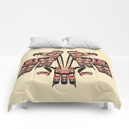 Salish Coast Twin Eagle Comforters