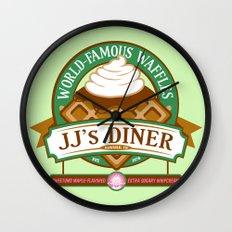JJ's Diner Wall Clock