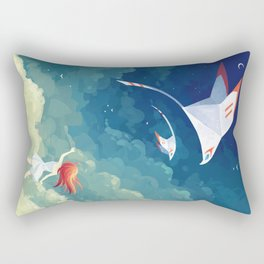 Flyby Rectangular Pillow
