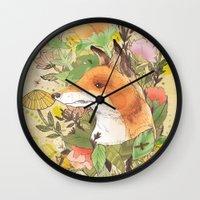 Wilderness Wall Clock
