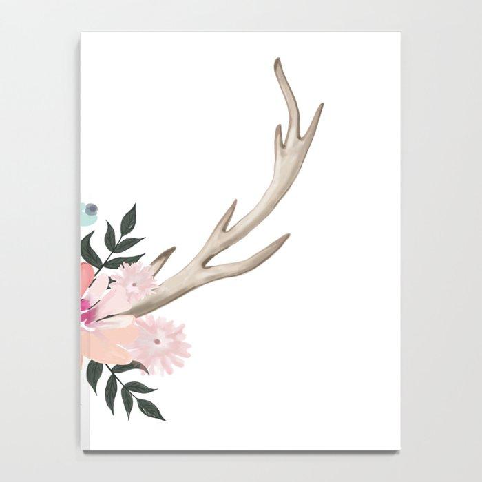 watercolor horns Notebook