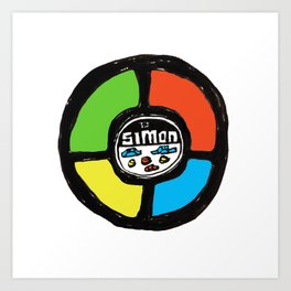 Simon Art Print