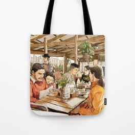 Farm Cafe Tote Bag