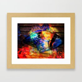 Life In Colors Framed Art Print