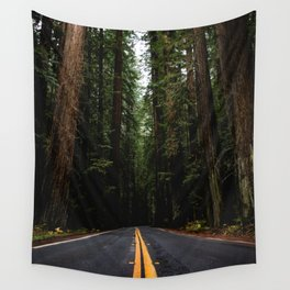 The Road to Wisdom - Nature Photography Wall Tapestry