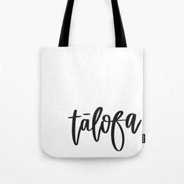 UrbanNesian Talofa Tote Bag