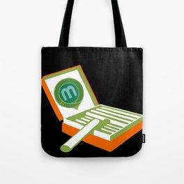 Manoli Plakatstil Tote Bag