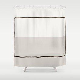Minimal Space 03 Shower Curtain