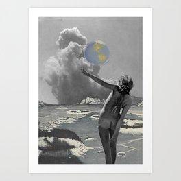 Moon Kingdom Rising Art Print