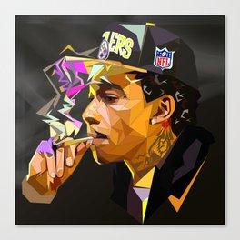 Hip-hop cubism Canvas Print