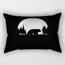 Hunter Hunting Bear Rectangular Pillow
