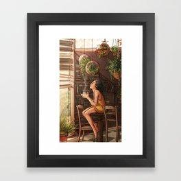 Jehan at Home Framed Art Print