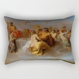 "Cornelis van Poelenburch ""Council of the Gods"" Rectangular Pillow"