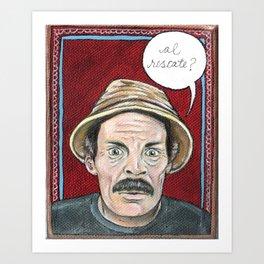 """Don Ramon """"Al Rescate!"""" Art Print"""