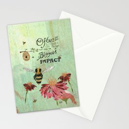 Honeybees May Be Little Stationery Cards