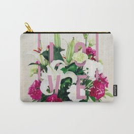 Love, Sweet as Flowers Carry-All Pouch