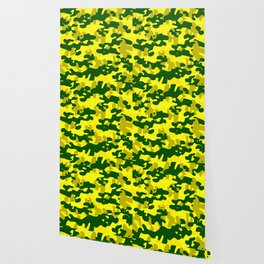 Camouflage (Yellow) Wallpaper