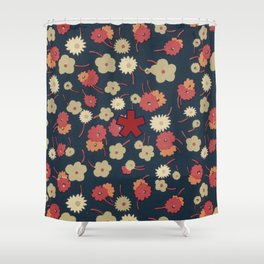 FLD Floral 1 Shower Curtain