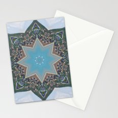 Kaleidoscope Star Stationery Cards