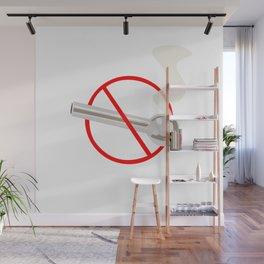 No Smoking...Crack Wall Mural