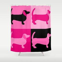 Doxie Moxie k. 2 Shower Curtain