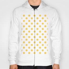Polka Dots (Orange & White Pattern) Hoody