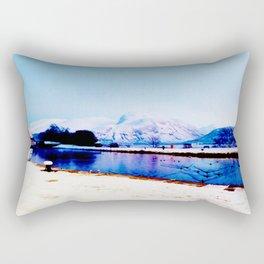 Corpach Sea loch, Highlands of Scotland Rectangular Pillow