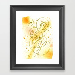 Golden Dream Framed Art Print
