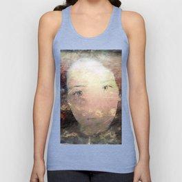 Catalina's Portrait / Retrato artístico de Catalina Unisex Tank Top