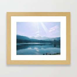Sprague Lake Framed Art Print