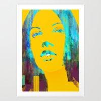 Risetime 1 Art Print