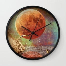 Belle de jour Wall Clock
