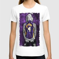 lakers T-shirts featuring Marilyn Monroe Los angeles Lakers with tattoos by Three Second