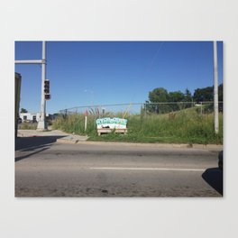 72nd and Maple, Omaha NE Canvas Print