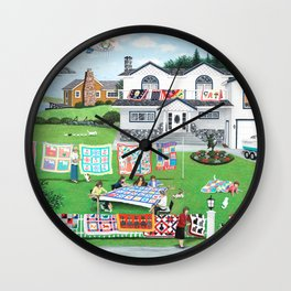 Cat Lovers Society Wall Clock