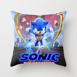 The Hedgehog Sonic 2020 Throw Pillow