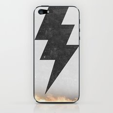 lightning strike iPhone & iPod Skin